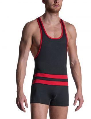 M2103 Wrestler Body black/red | M