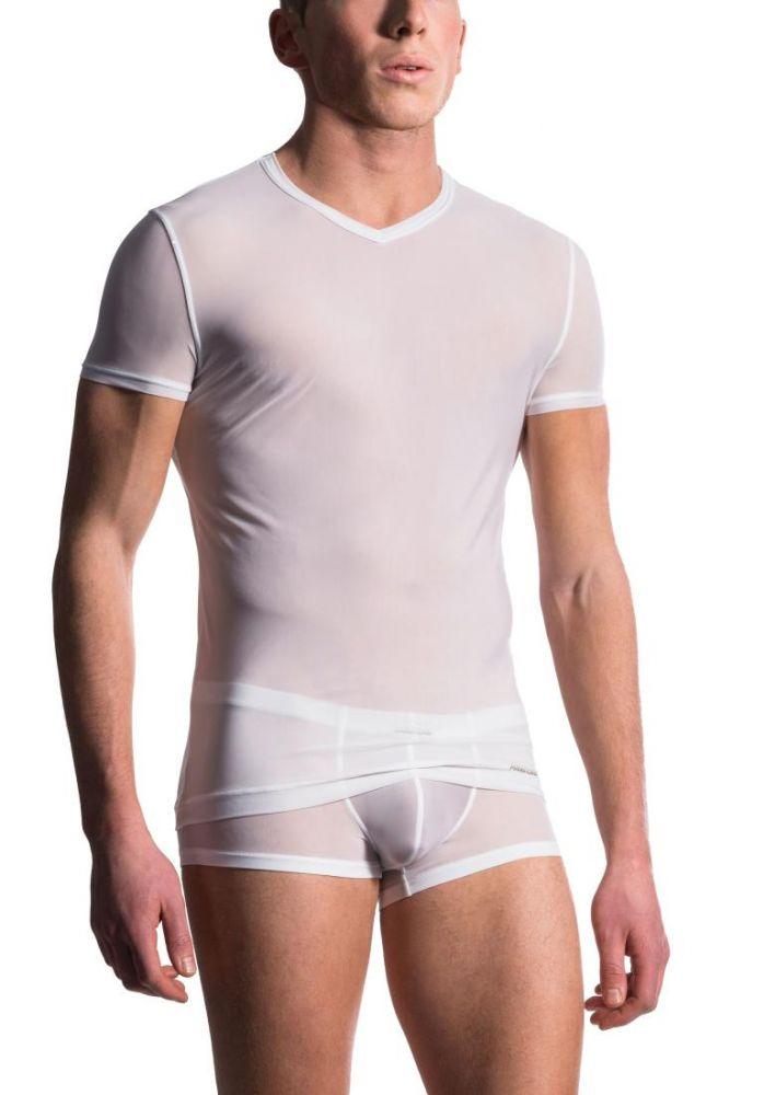M101 V-Neck Tee regular | Shirts | Unterwäsche | MANSTORE