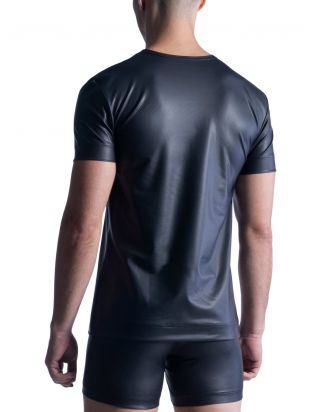 M510 V-Neck Tee regular black | XL