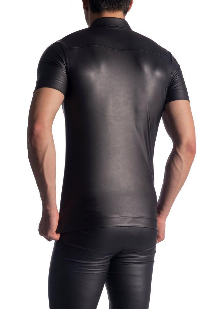 morepic-M510 Zipped Shirt   Shirts   Unterwäsche   MANSTORE