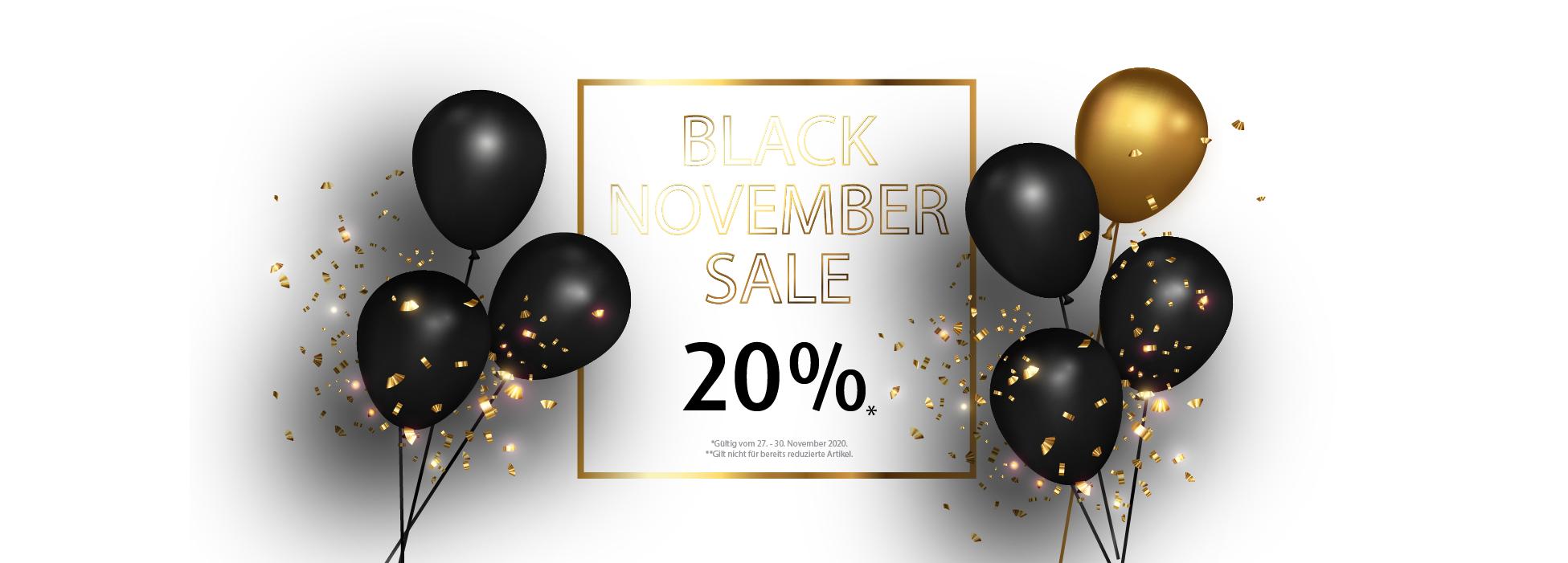 Banner Black November Sale